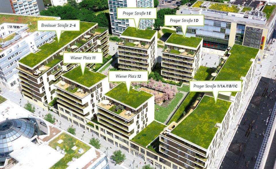 Neue moderne Wohnungen in Dresden
