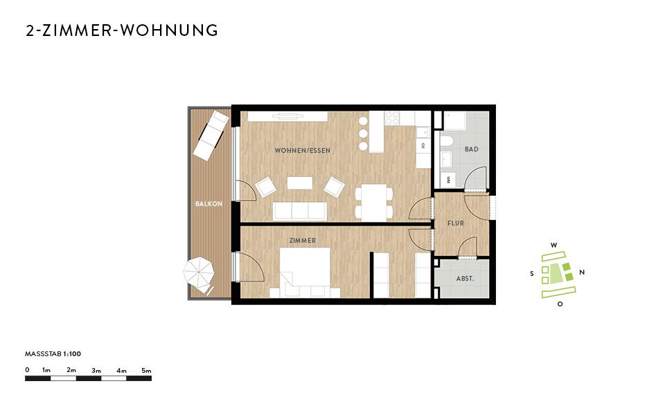 Geschmackvolle 2-Zimmer-Wohnung in Dresden